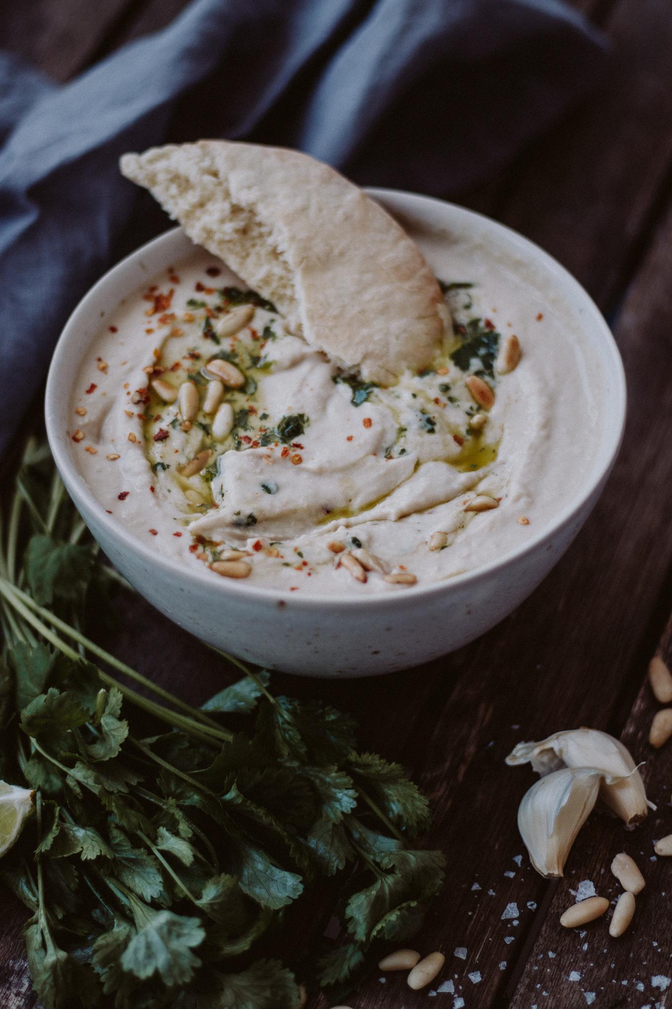 The Daily Dose weiße Bohnen Hummus