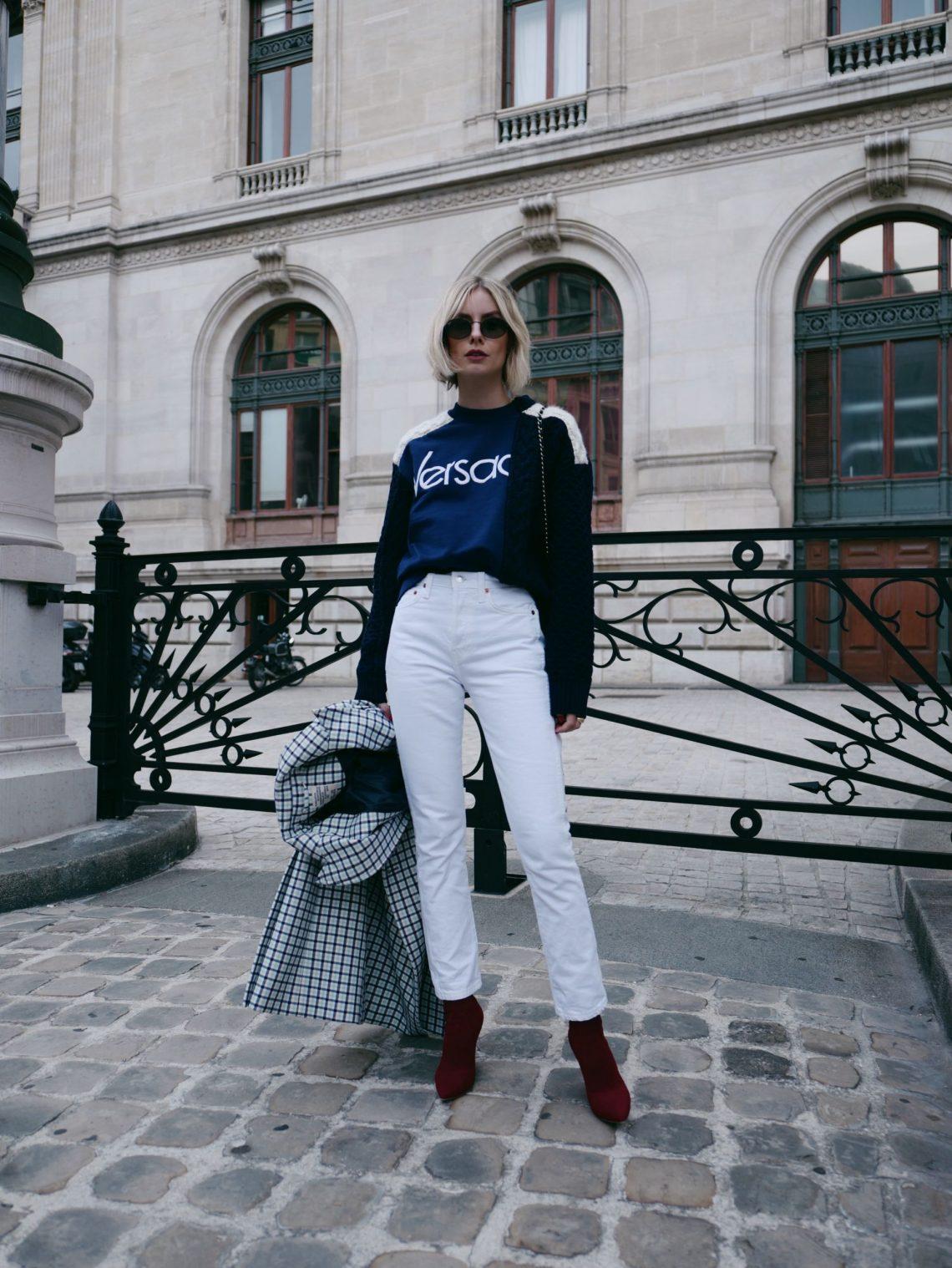 Steal Her Style: Der Logo Sweater