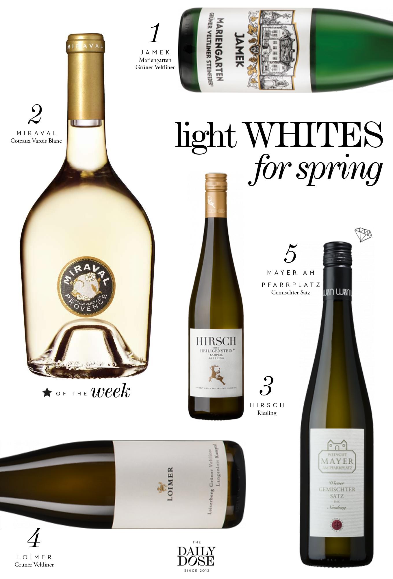 Die Besten Weißweine für den Frühling