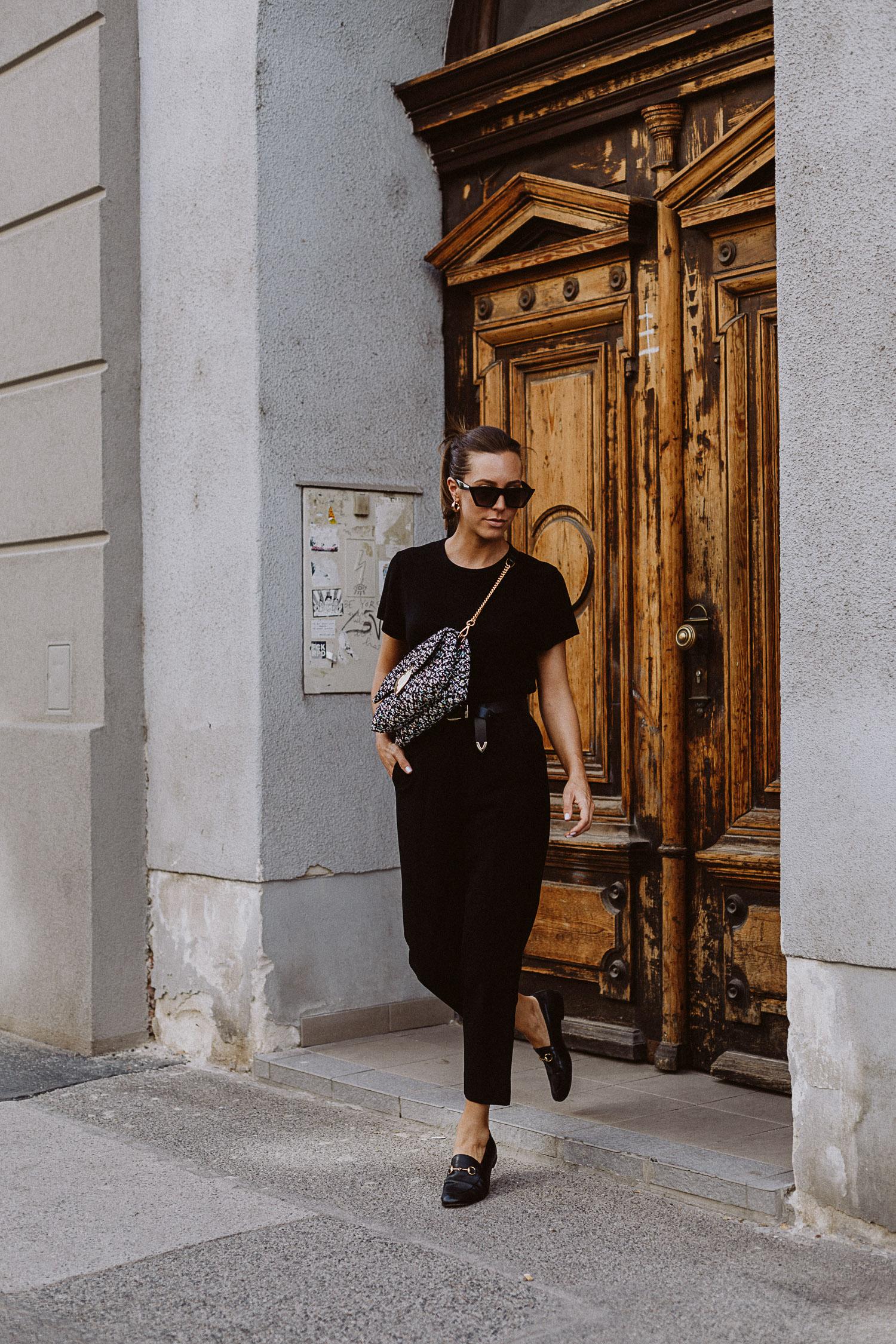 Outfit mit Schwarz und Gold stylen | The Daily Dose