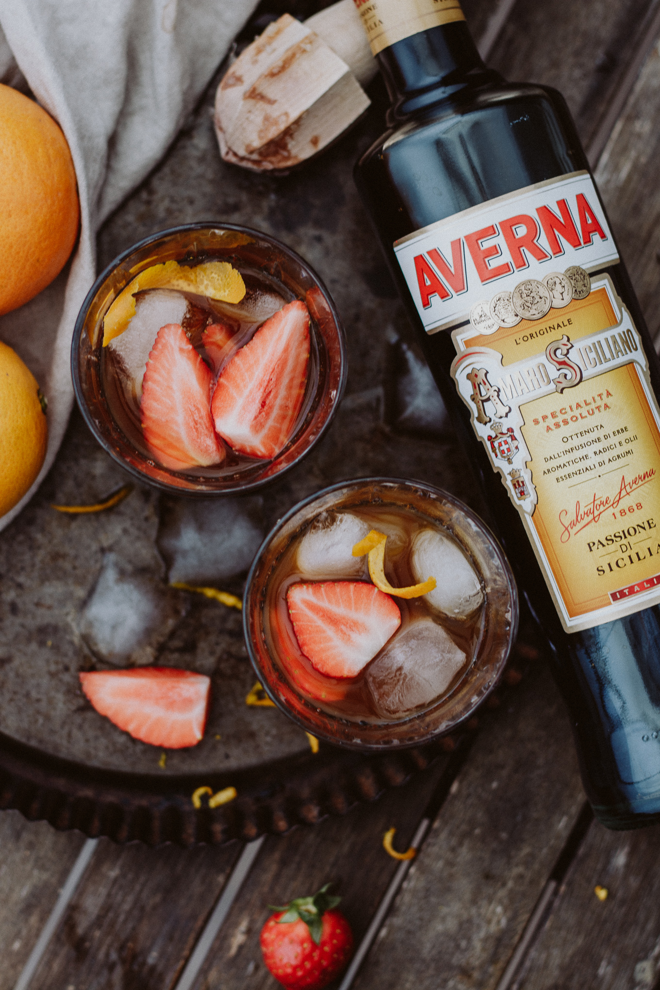 The Daily Dose Averna Strawberry