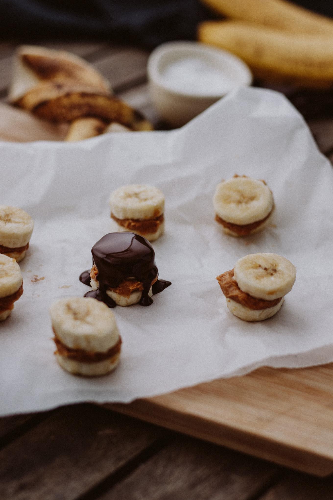 2019 The Daily Dose Banane Erdnussbutter Treats