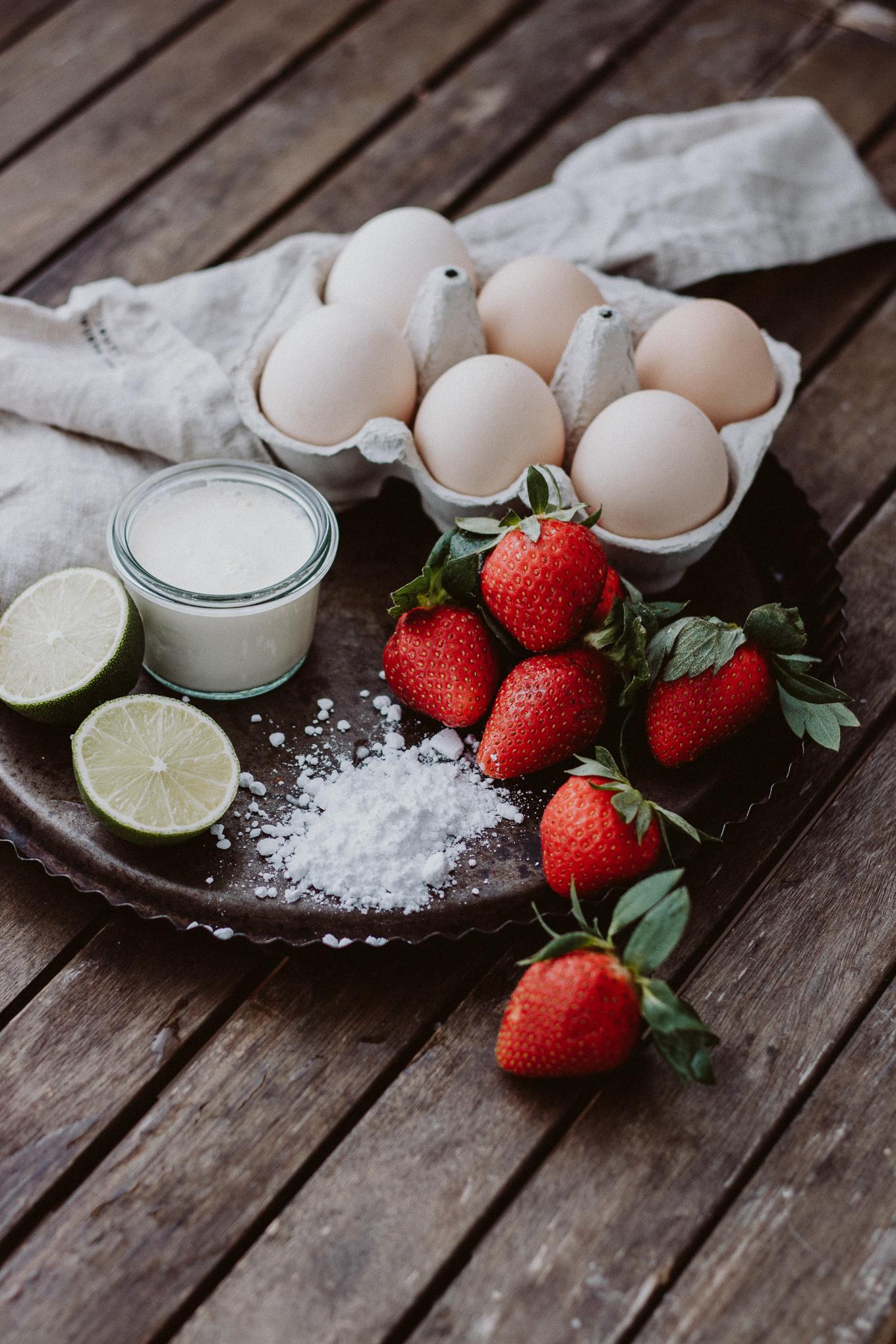 The Daily Dose 2019 Rezept Erdbeer Pavlova