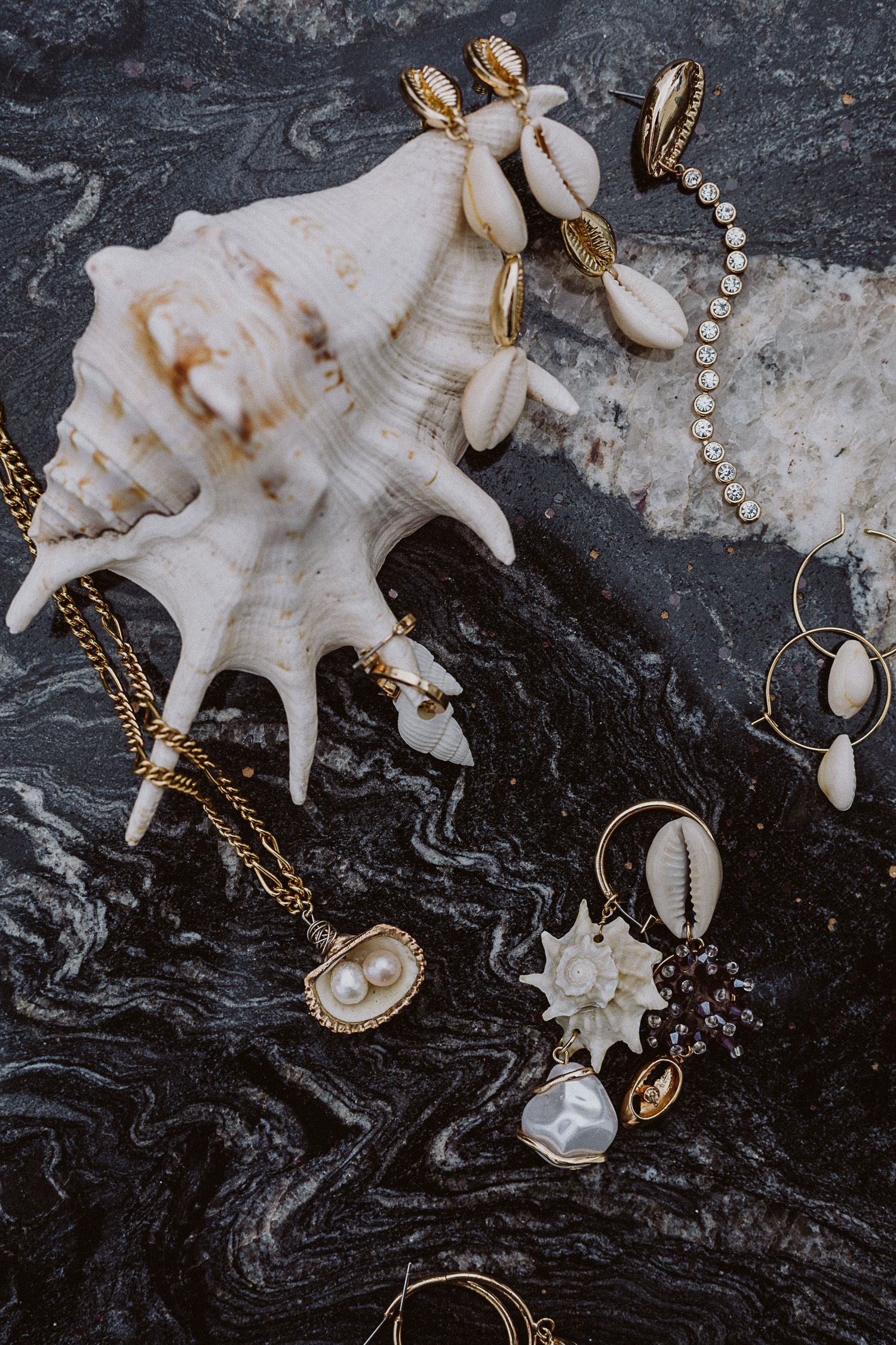Editor's Pick: Seashell Accessoires, Muchel-Ohrringe - Love Daily Dose
