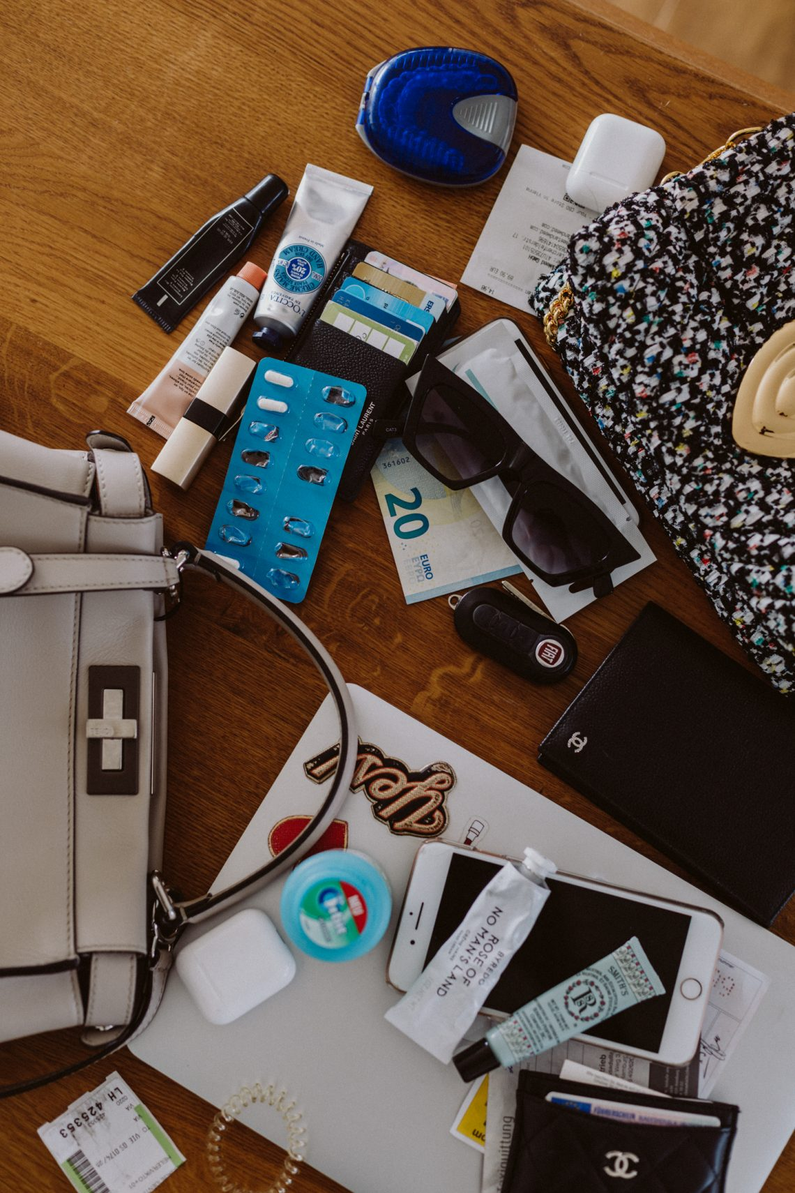 Office Talk: What's In Our Bags (reloaded)