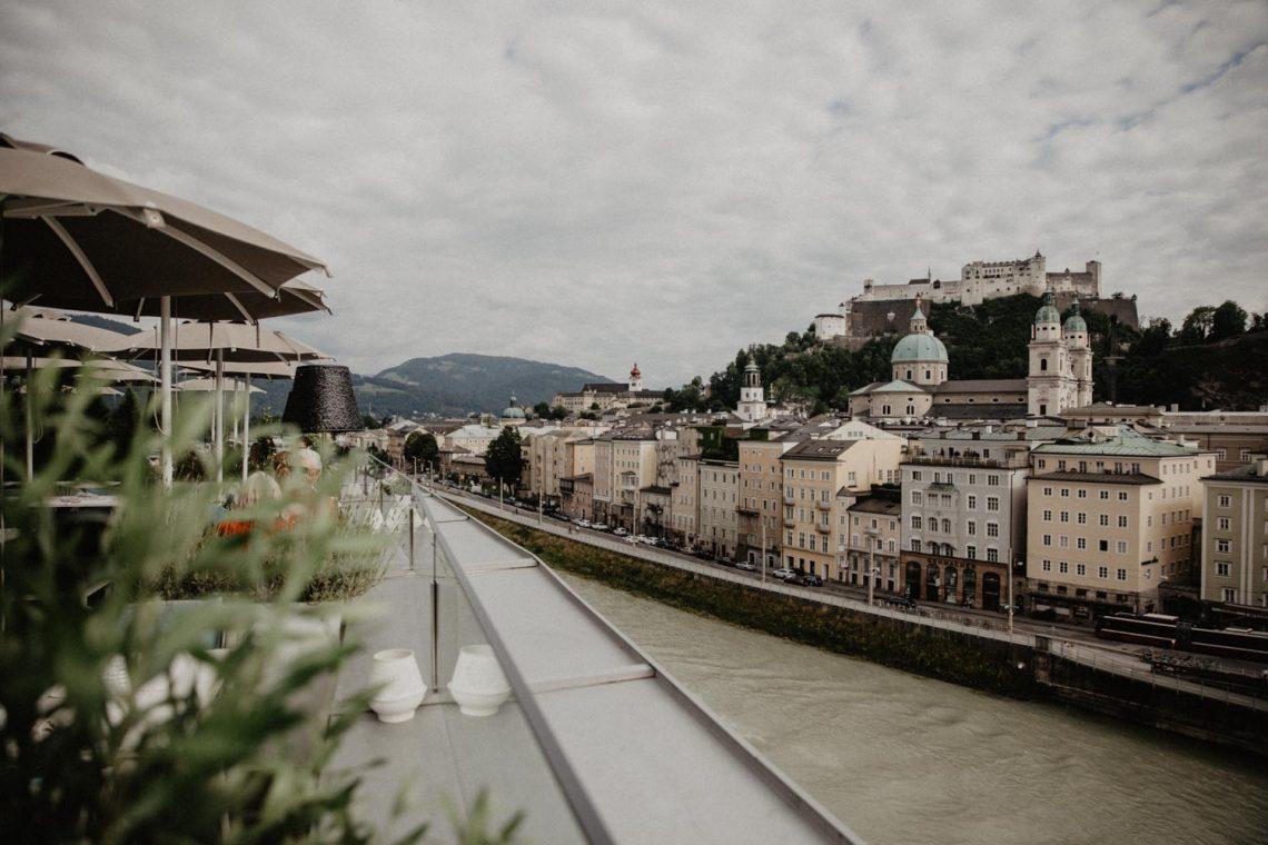 Salzburg Pick: Seven Senses Rooftop Bar im Hotel Stein