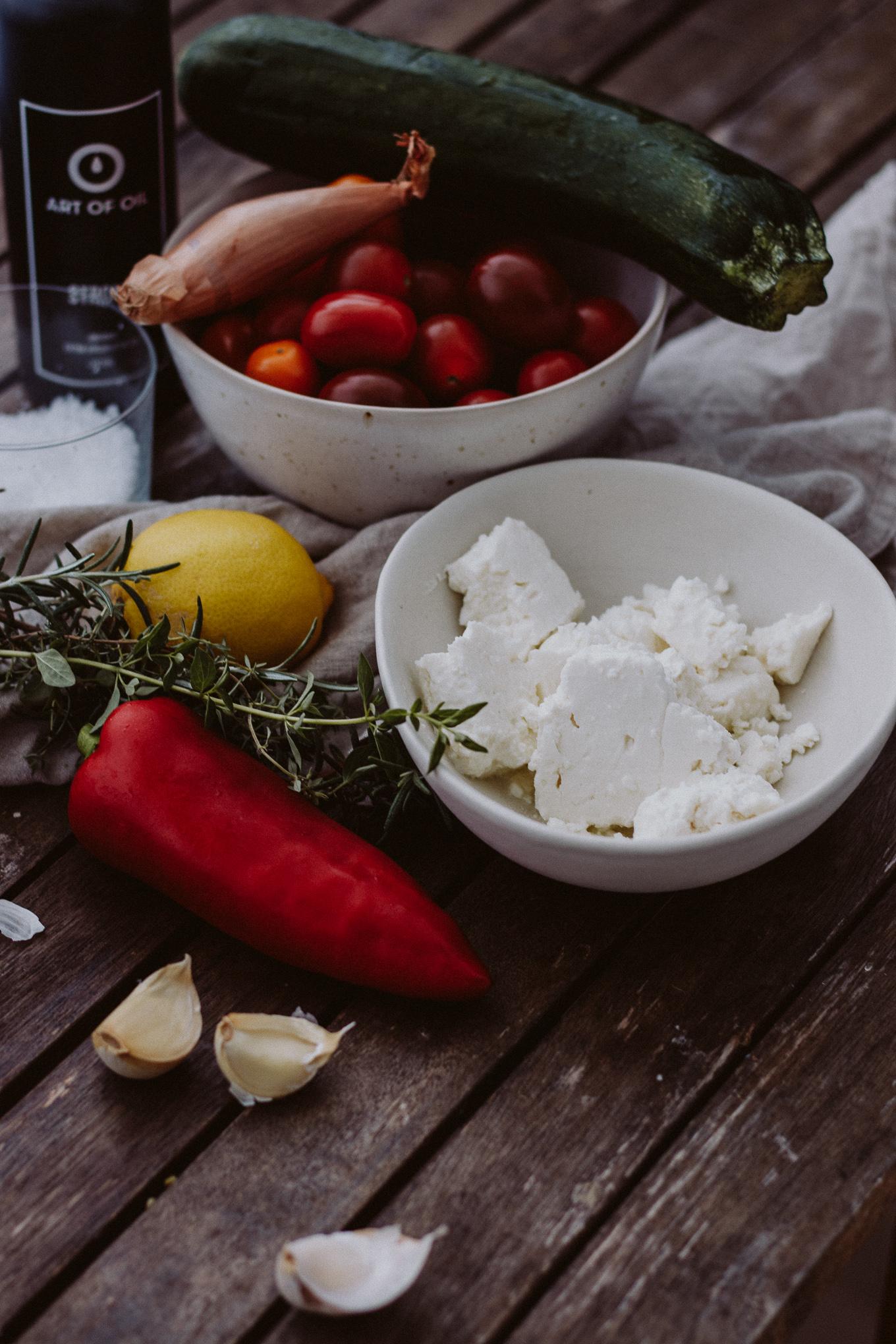 2019 The Daily Dose Rezept Grillgemüse mit Feta