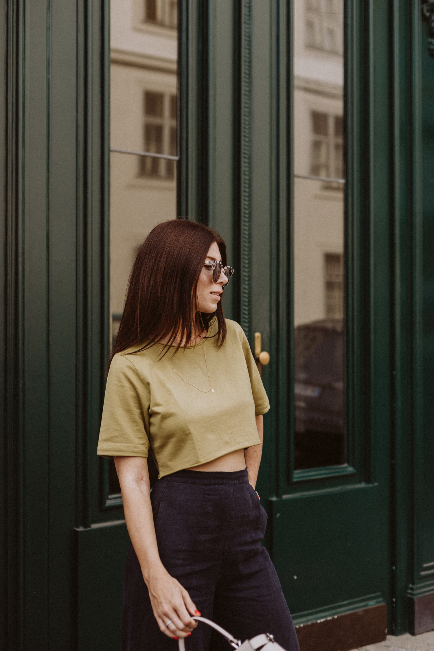 Editor's Pick: Crop Top by Aylin Koenig - Love Daily Dose