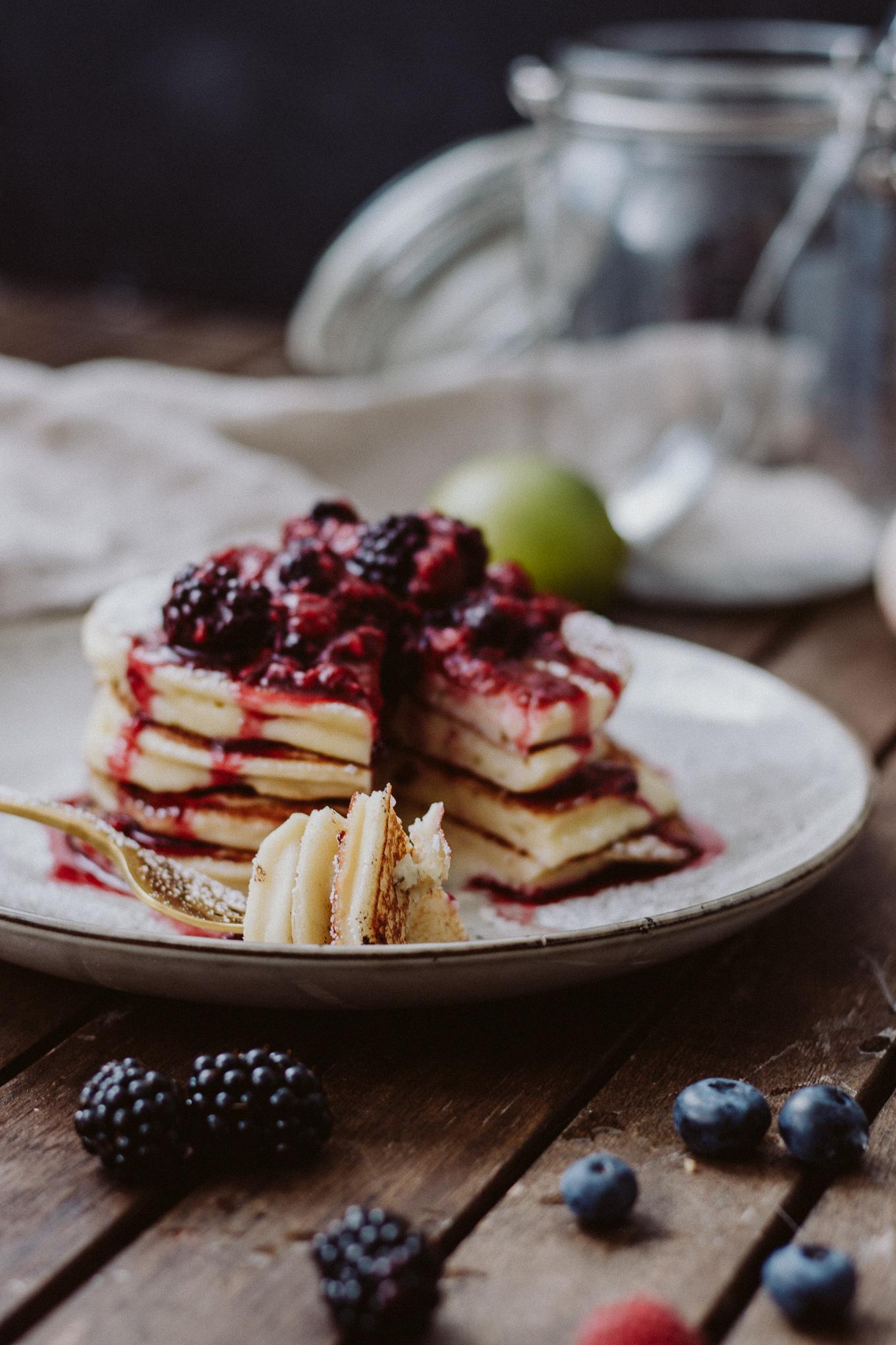2019 Rezept The Daily Dose Topfenpancakes