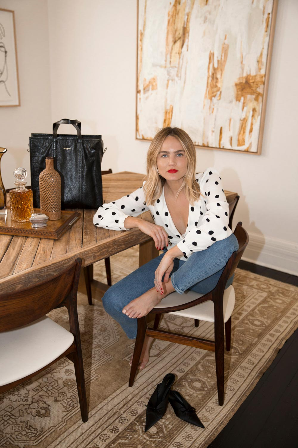 Steal Her Style: Polka Dots