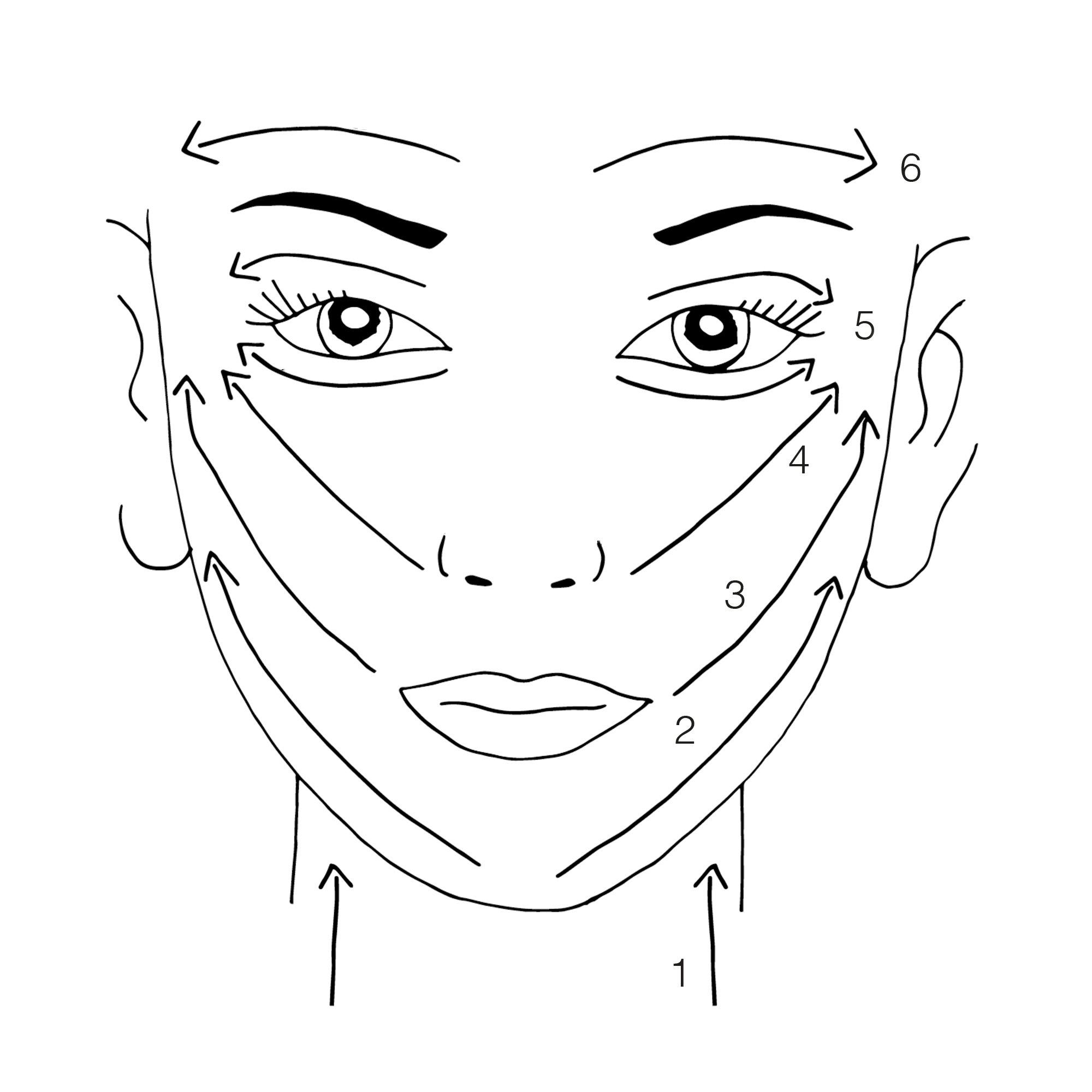 Gua Sha im Gesicht anwenden - Love Daily Dose