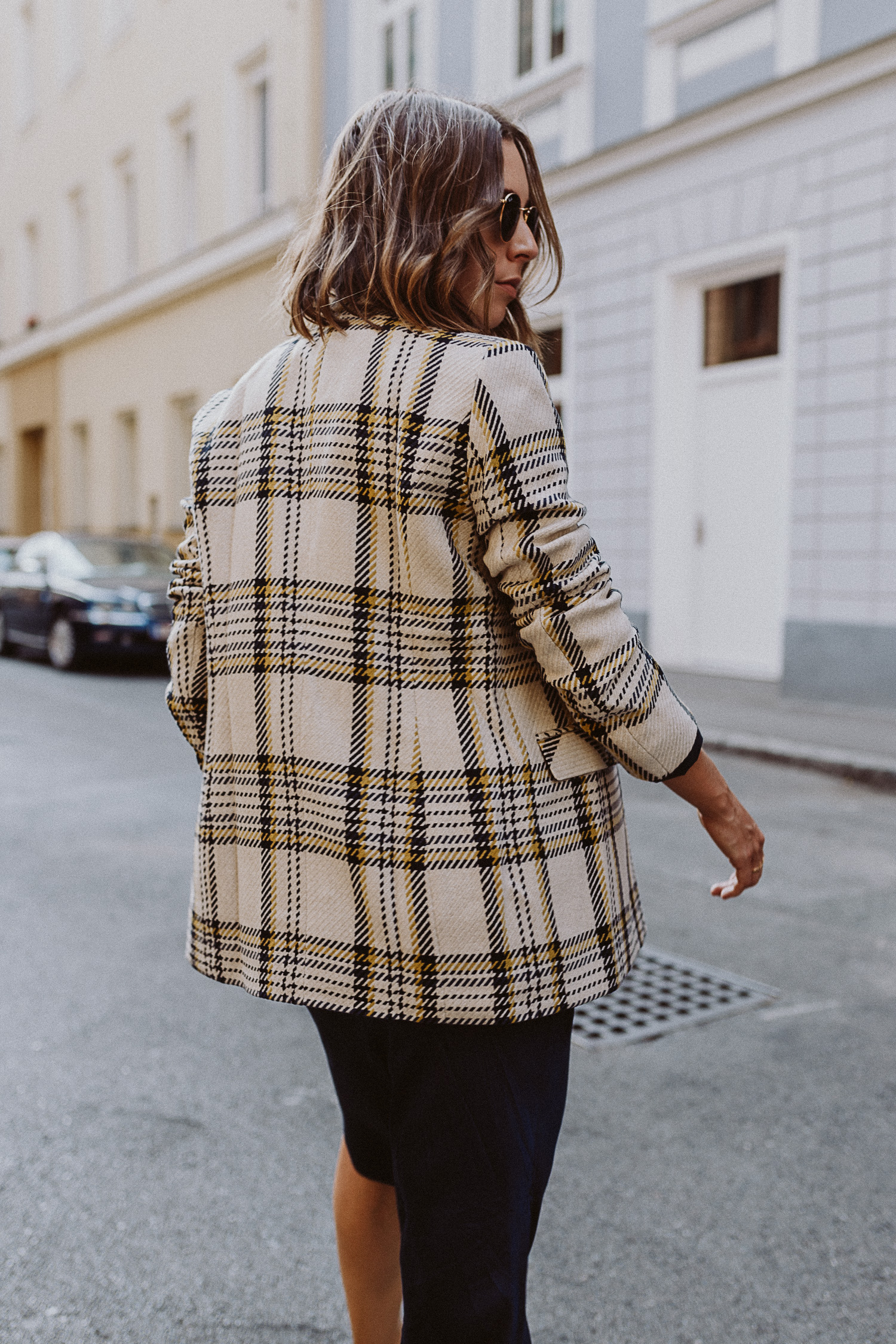 Herbst Trend Karo Blazer - The Daily Dose