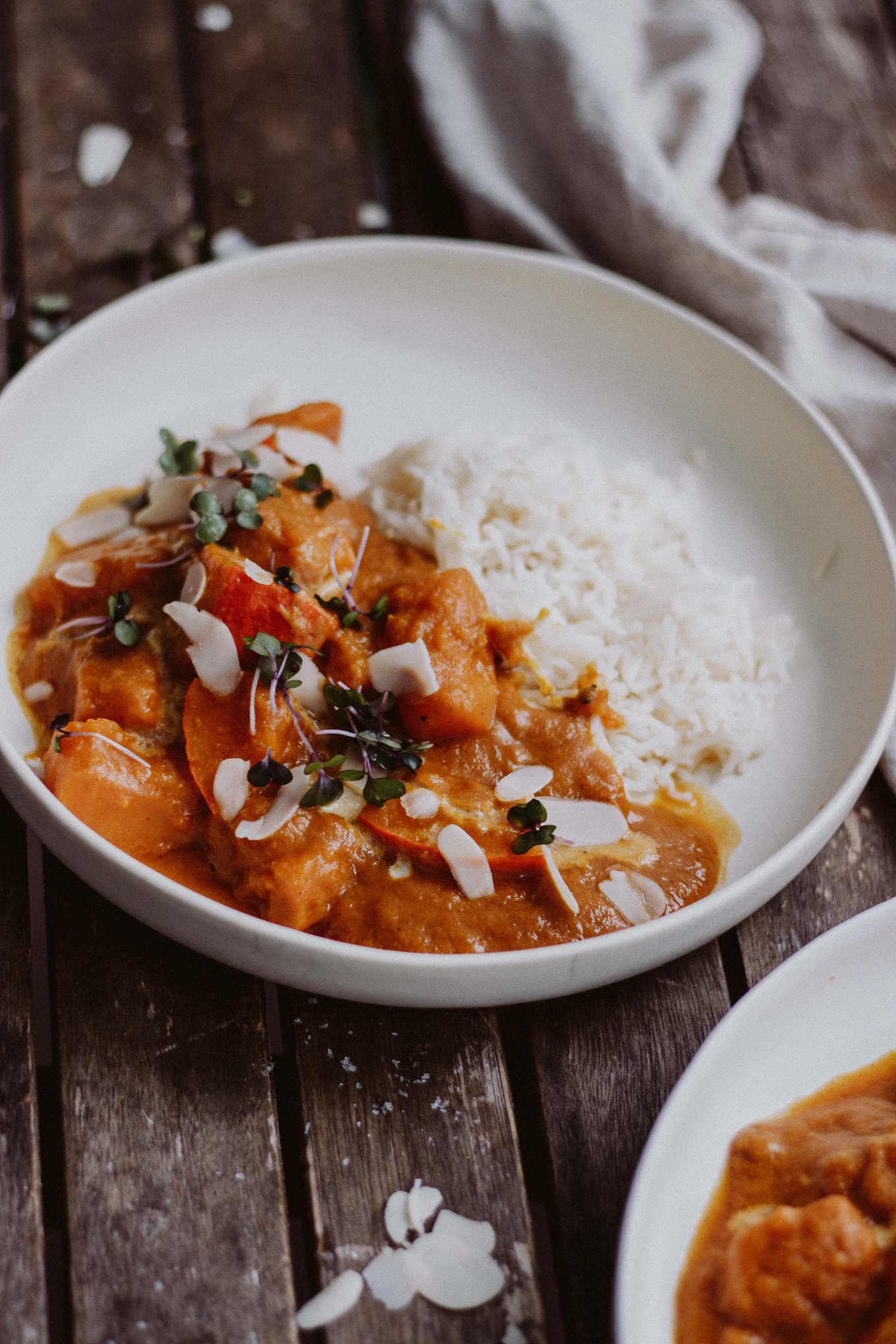 Rezept Kürbis Mango Curry Vegan Lovedailydose