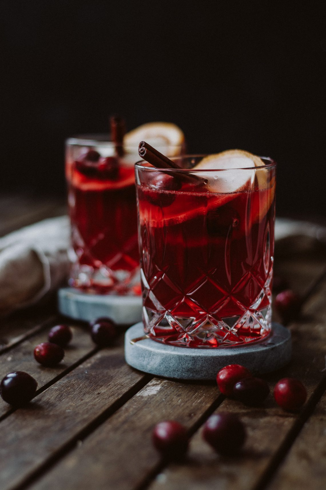 Bubbly Friday: Cranberry Orangen Punsch