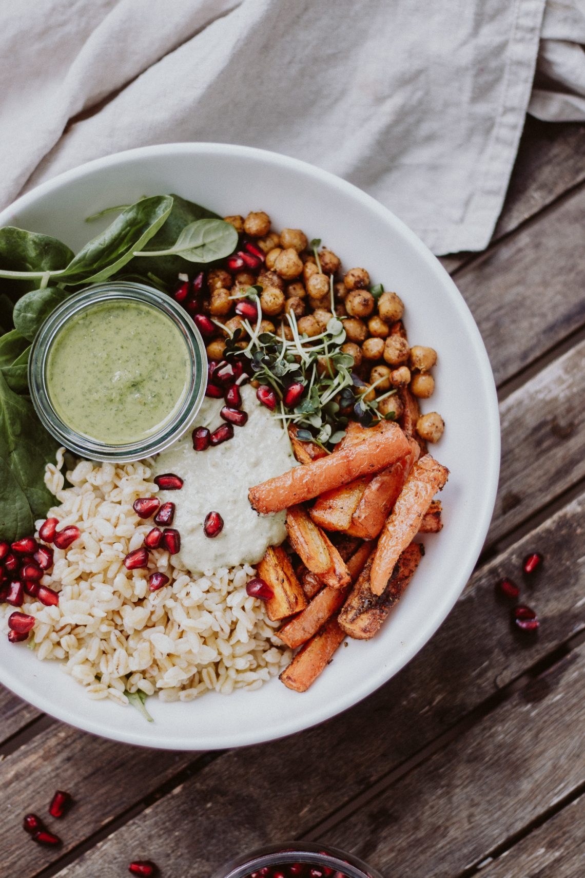 Rezept: Fit Food – vegane Goddess Bowl