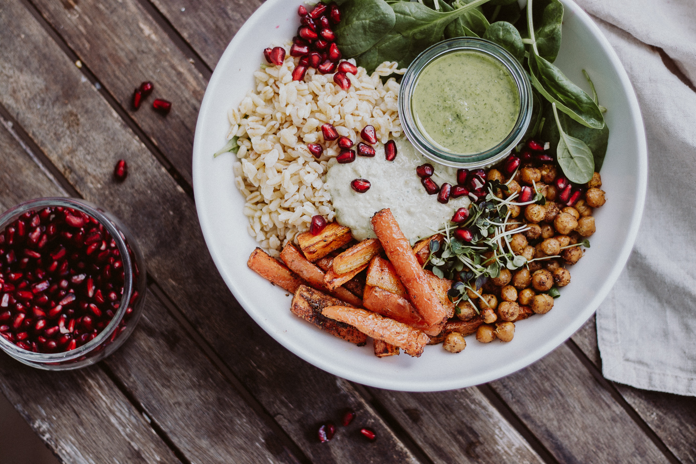 vegane Goddess Bowl The Daily Dose Rezept Fitness Week