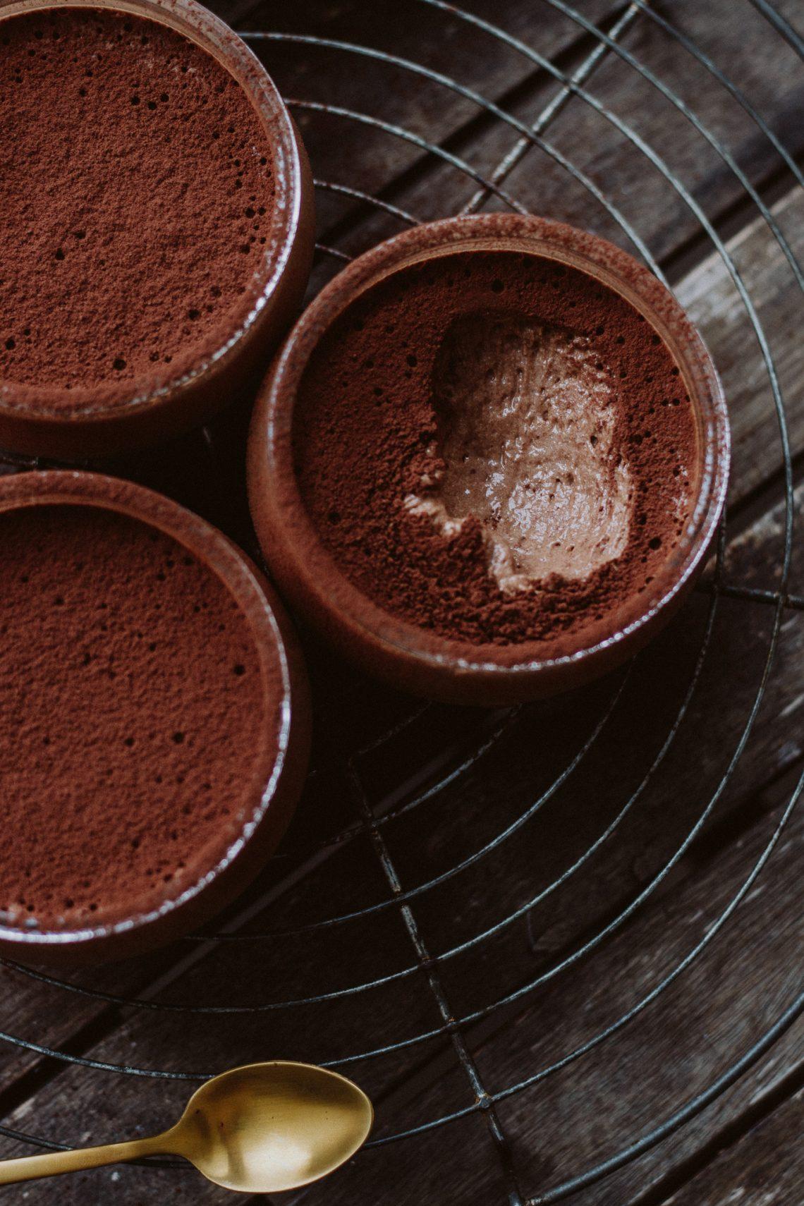 Rezept: Mousse au Chocolat mit Rum