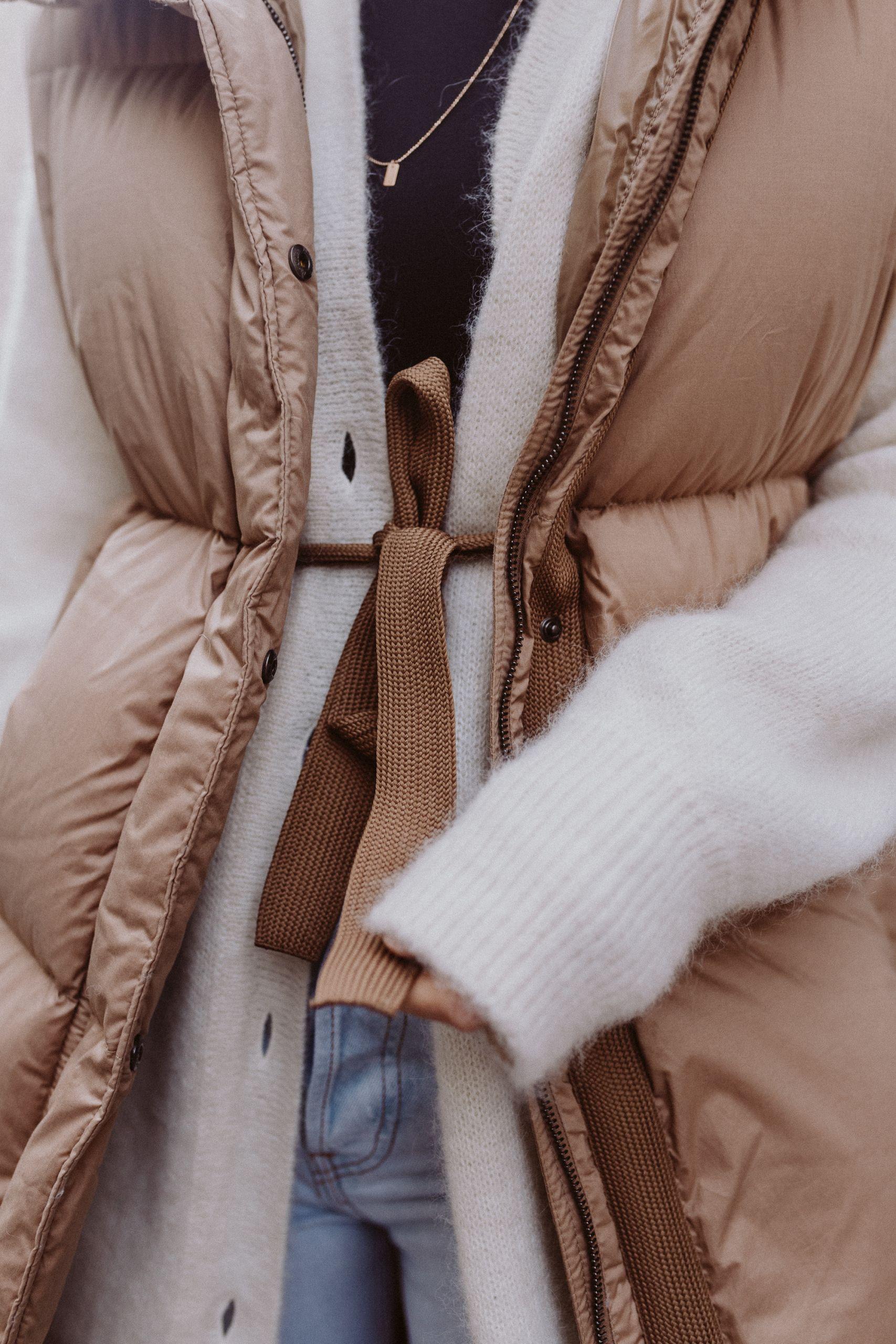 Daunenmantel lang: Puffer Jackets - Love Daily Dose