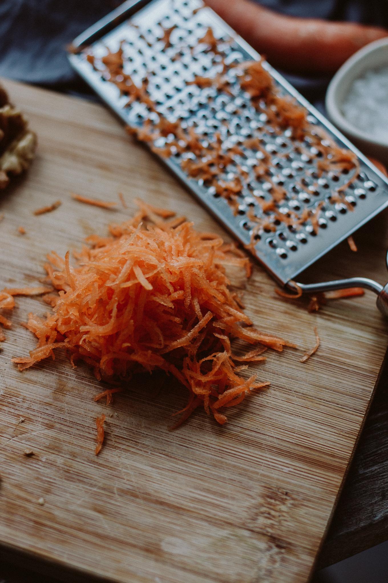The Daily Dose Rezept veganer Carrot Cake Porrdige