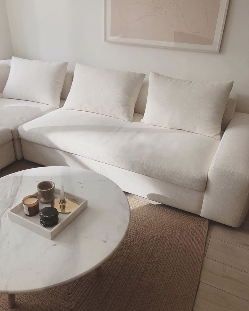 Interior: The White Sofa Wishlist