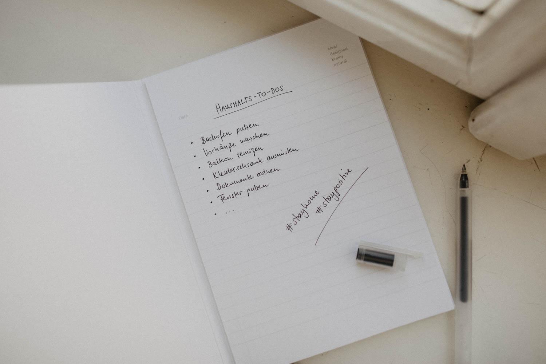 10 Dinge, die ihr jetzt endlich im Haushalt erledigen könnt. - Love Daily Dose