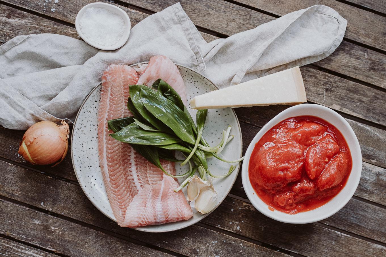2020 The Daily Dose Fisch mit Bärlauchkruste Rezept Quarantäne