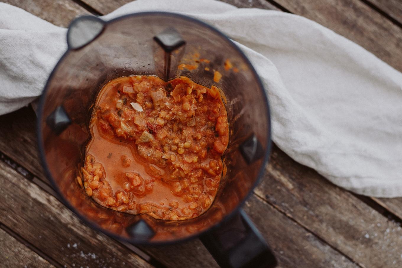 The Daily Dose Quarantäne Rezept rote Linsen Kokos Suppe