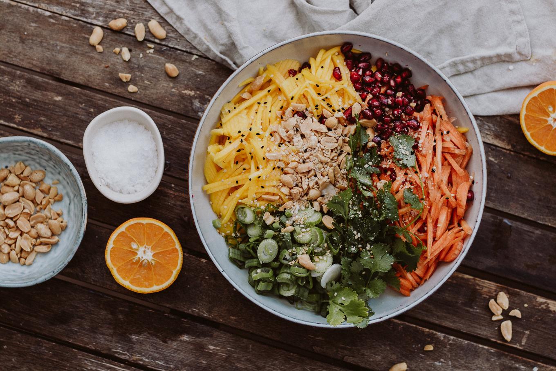 The Daily Dose lowcarb Rezept Thai Mango Salat