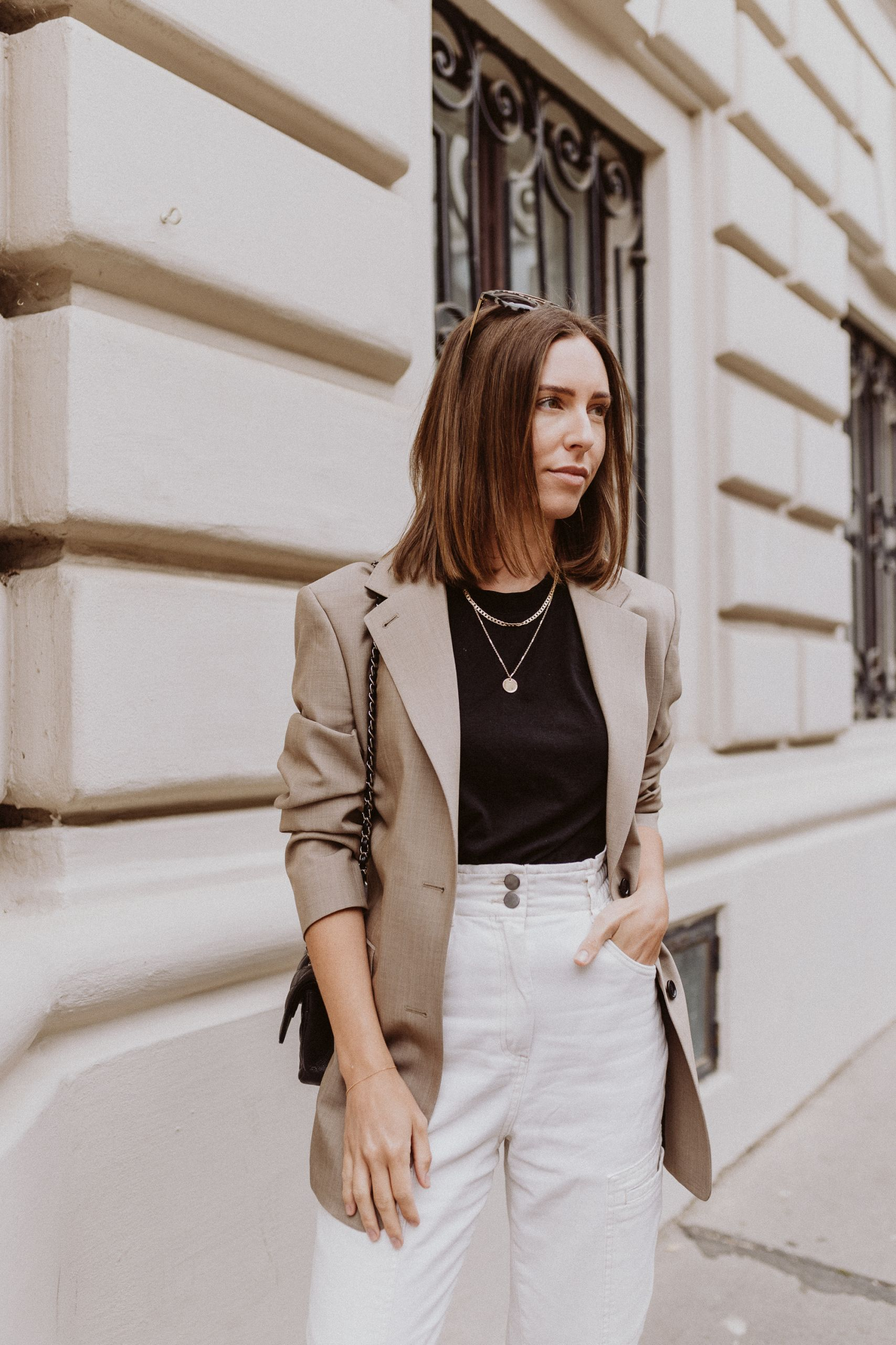 Editor's Pick: White Denim Office Styles - Love Daily Dose