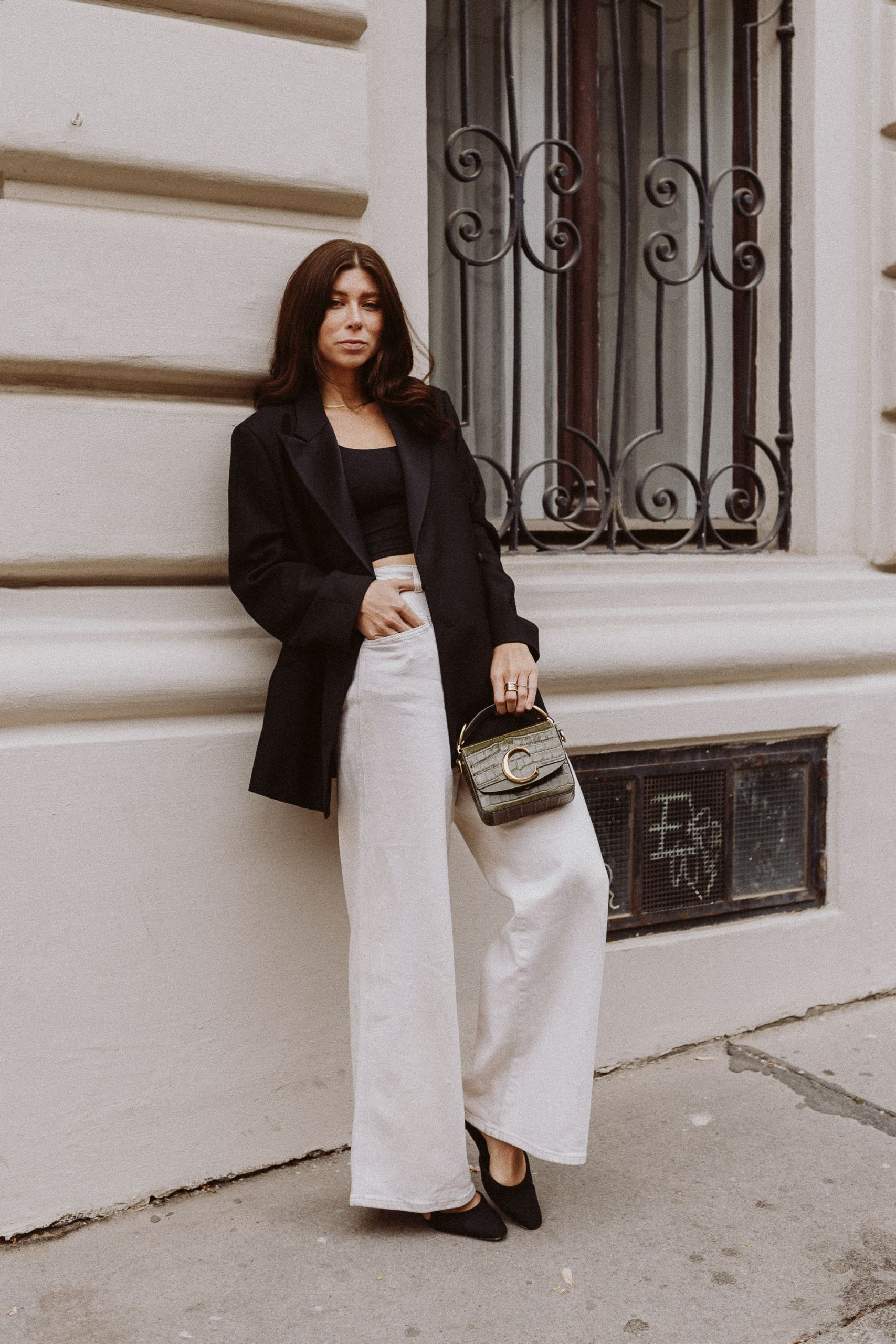 Editor's Pick: White Denim Office Looks - Love Daily Dose