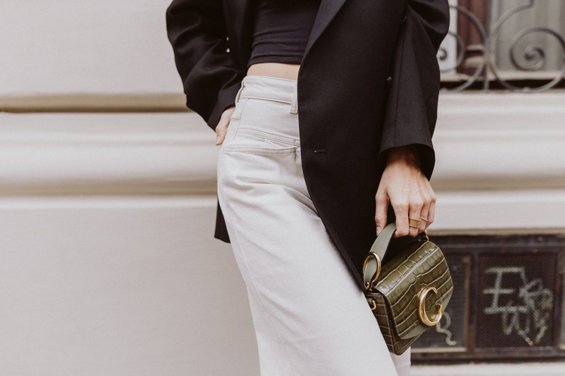 Editor's Pick: White Denim Office Looks