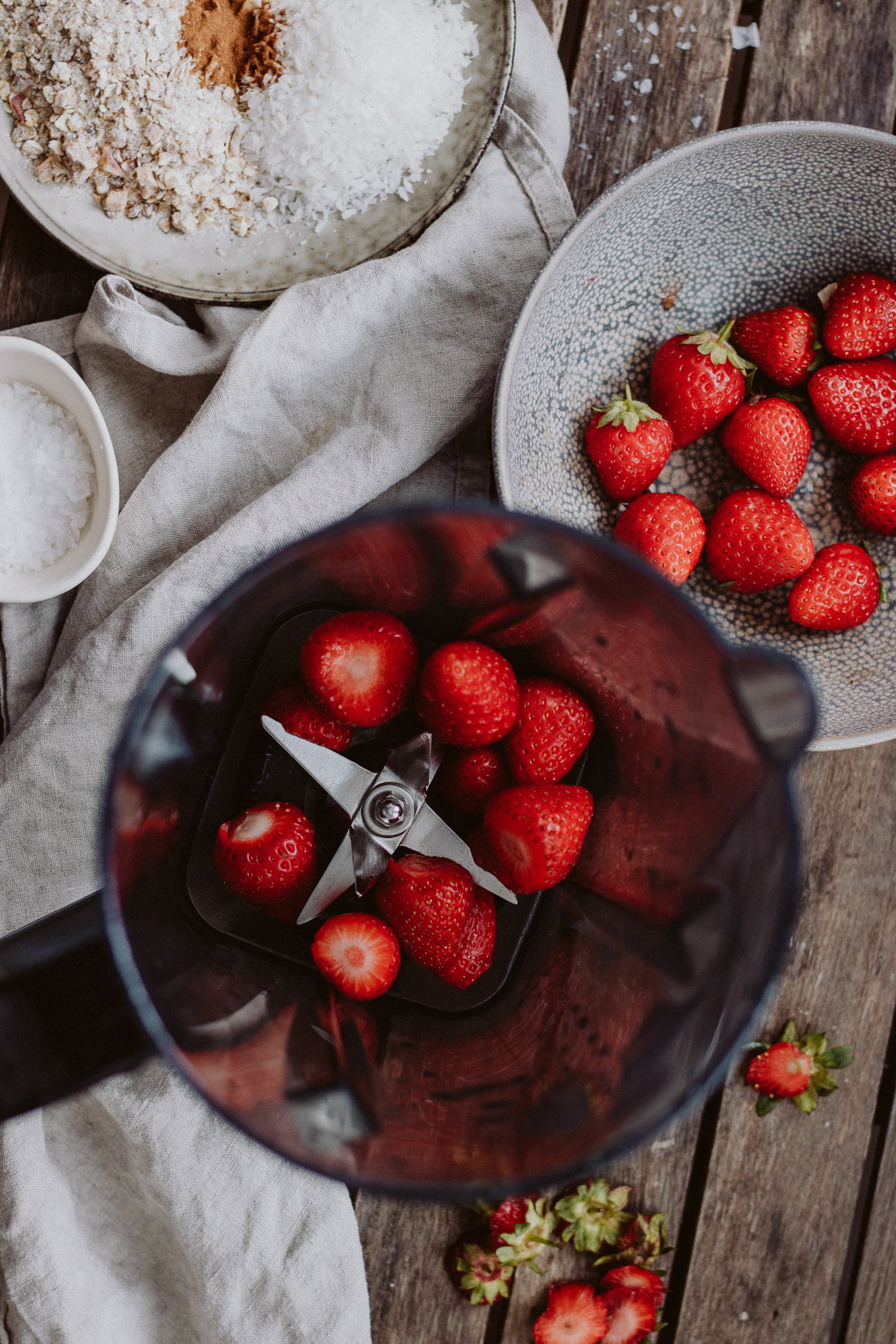 Rezept The Daily Dose Frühstücks Erdbeer Joghurt Shake