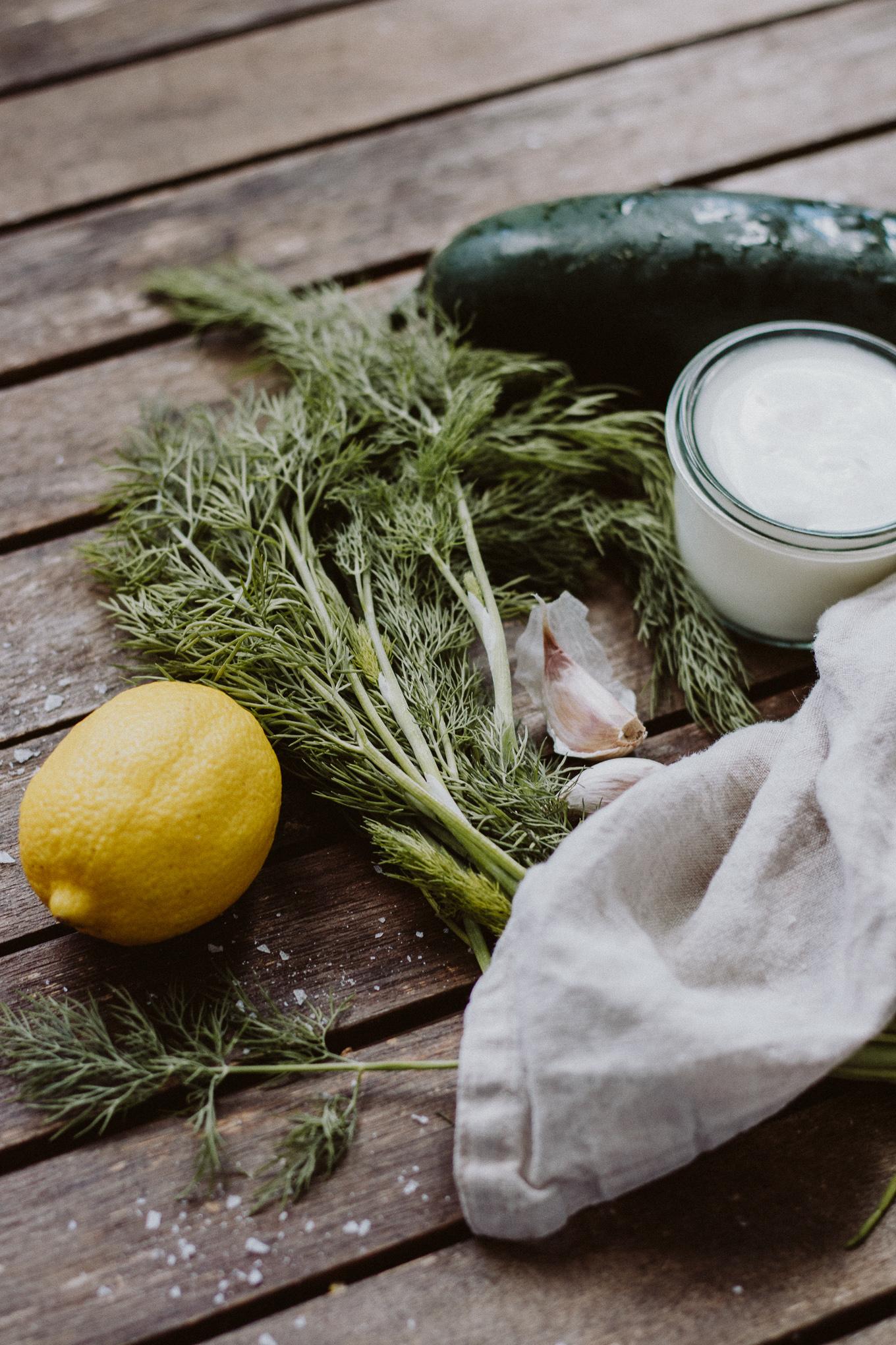 The Daily Dose Rezept kalte Gurkensuppe mit Ei