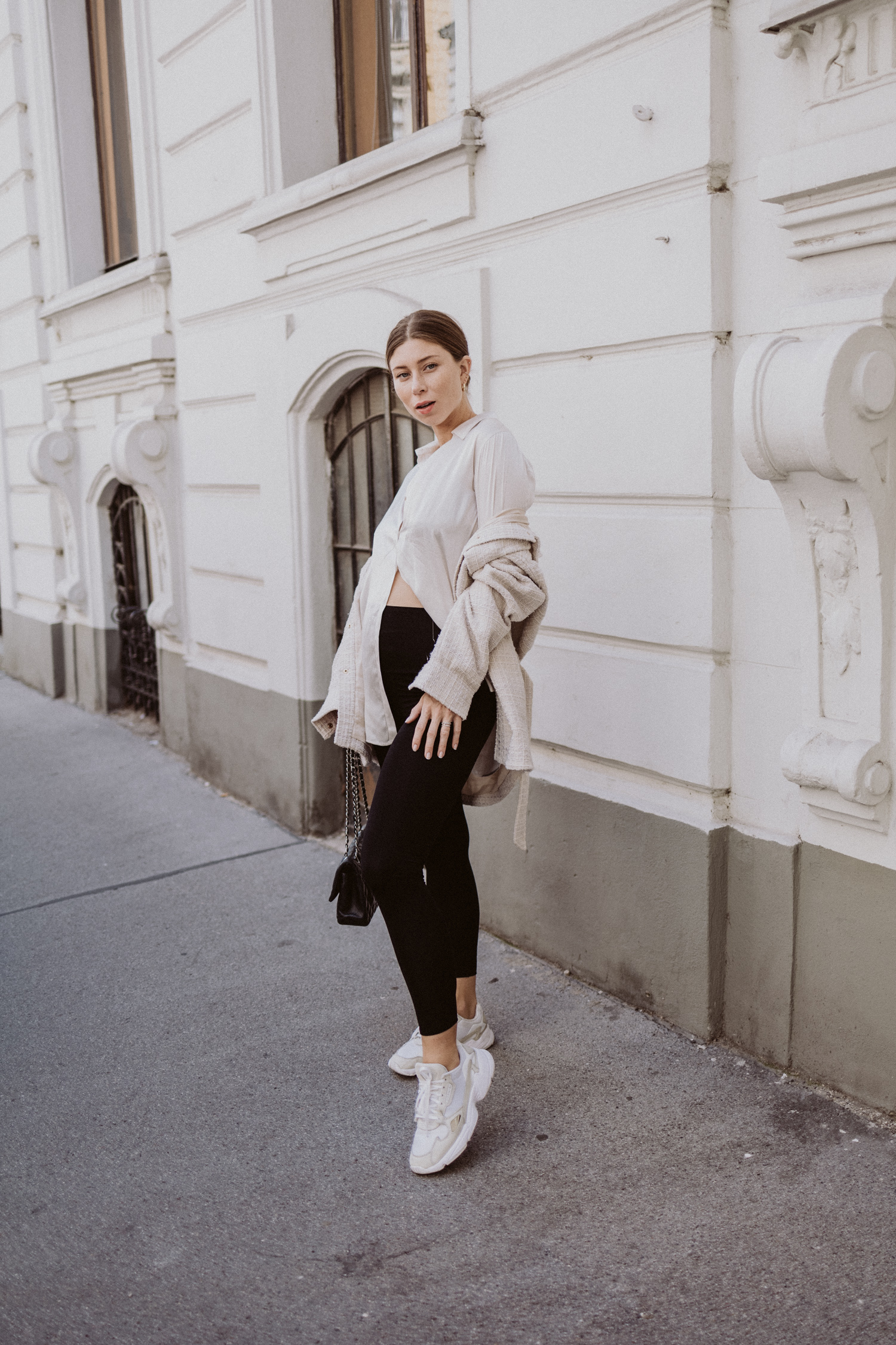 Sporty Chic: How to wear les Lunes leggings - Love Daily Dose