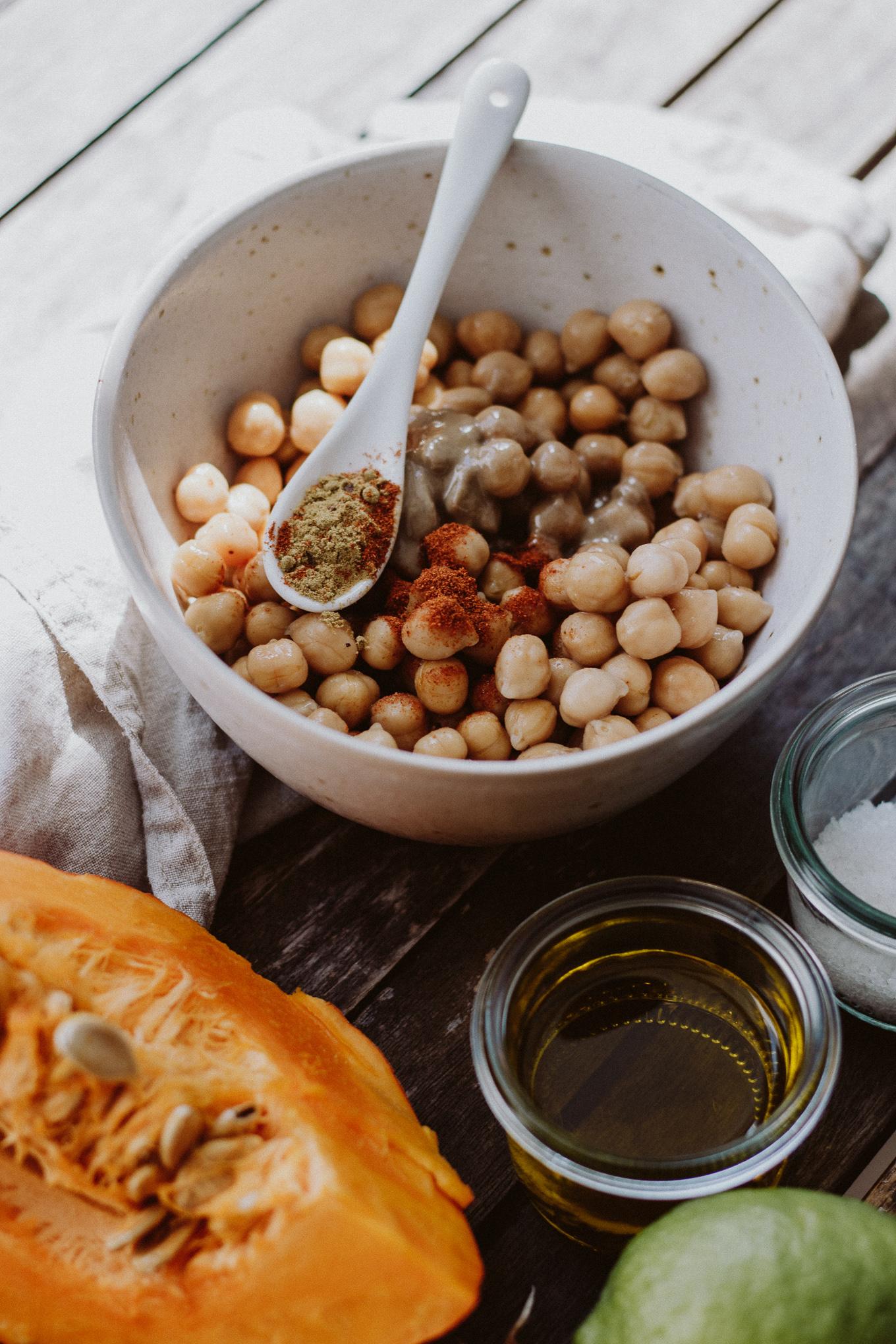 The Daily Dose Rezept Kürbis Hummus