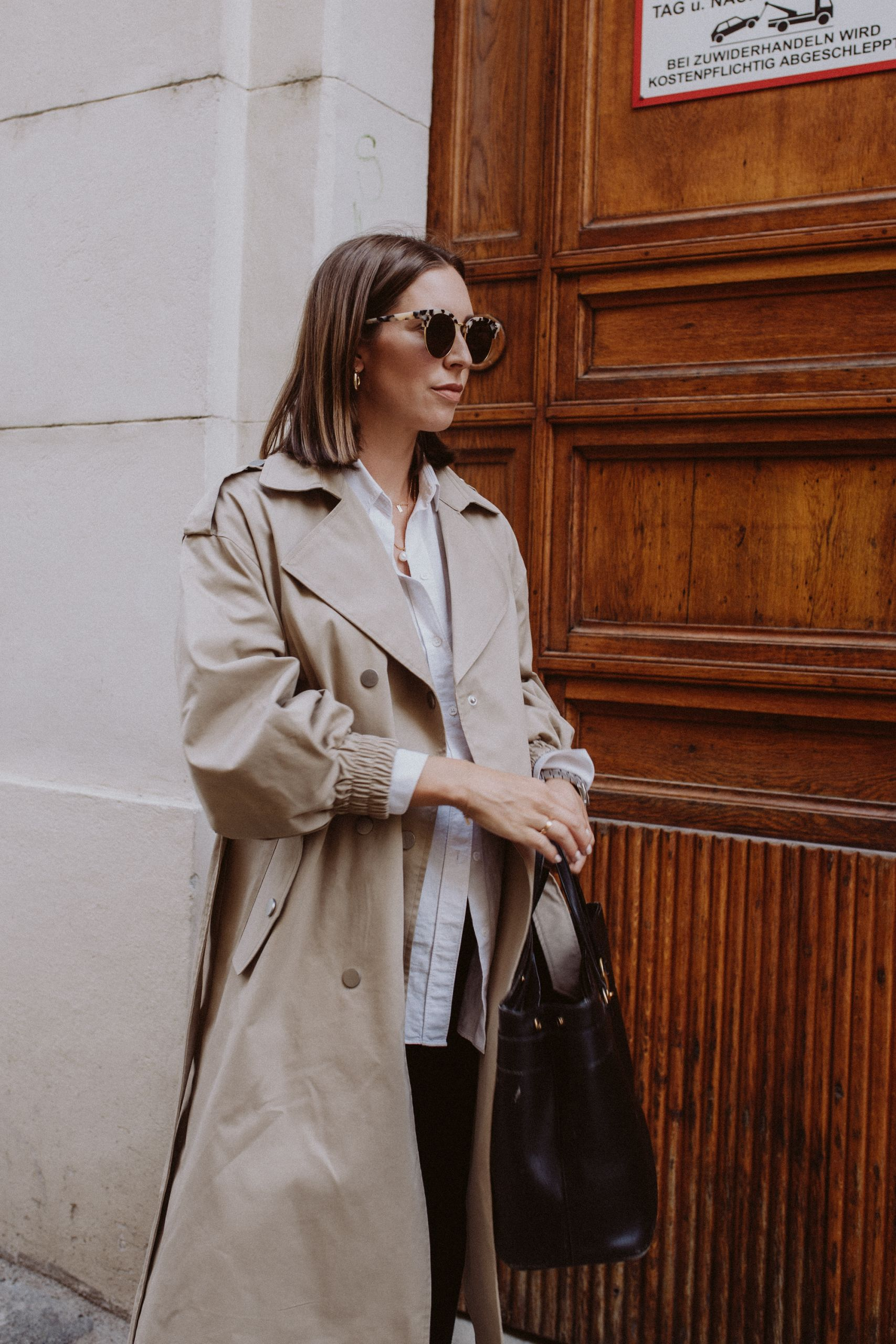 Trenchcoat Season Outfit - Love Daily Dose